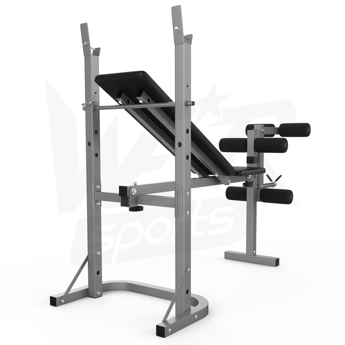 XBench folding weight bench backview