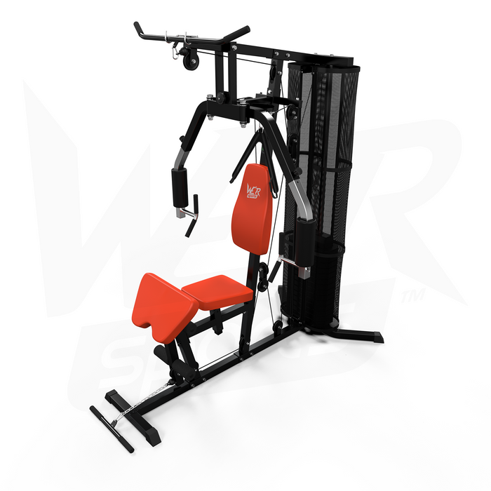 WeRSports home multi gym black and orange