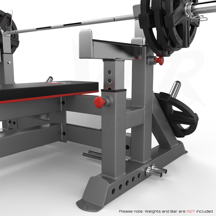 Chest press bench weights from WeRSports