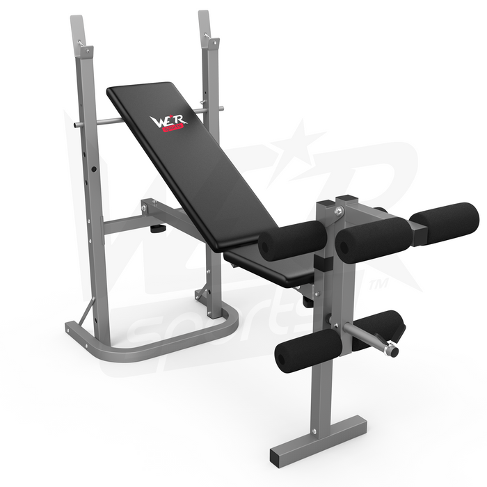 WeRSports folding weight bench
