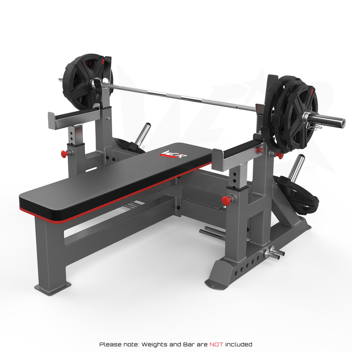 Chest press bench weights