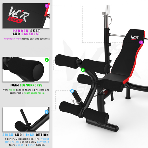 BenchXPower weight bench features