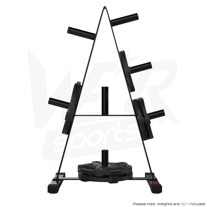 from view of weight plate rack stand