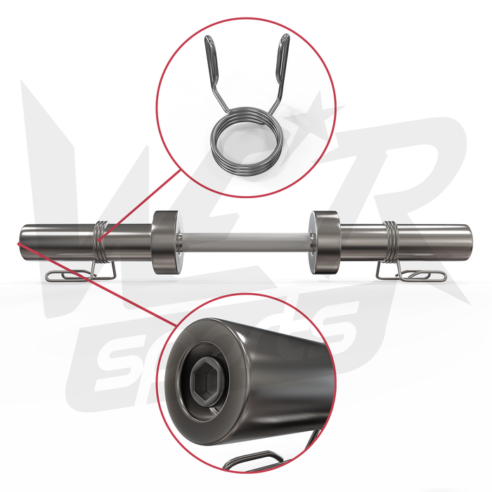 Dumbbell bar set parts and accessories