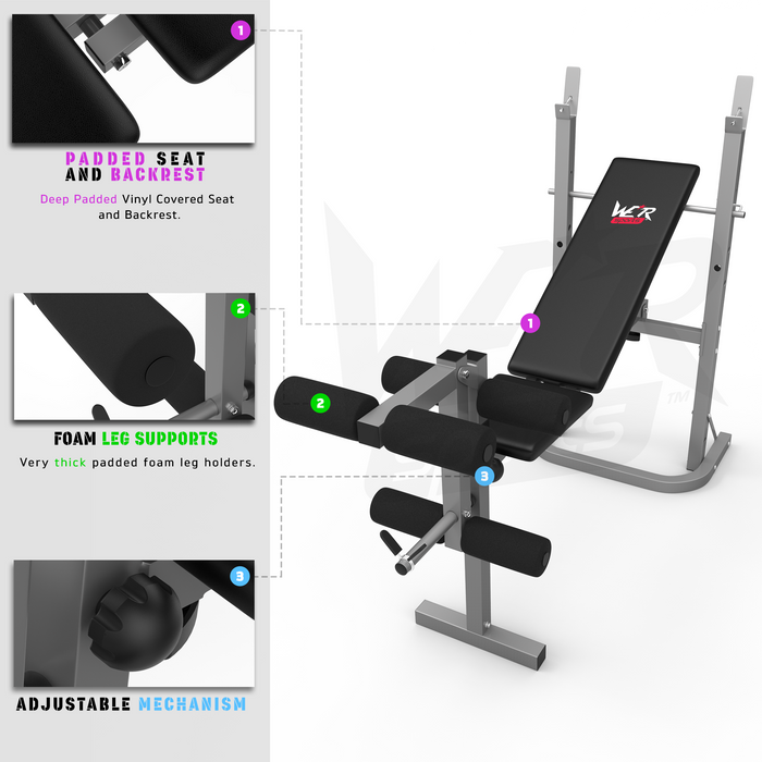 XBench standard weight bench from WeRSports
