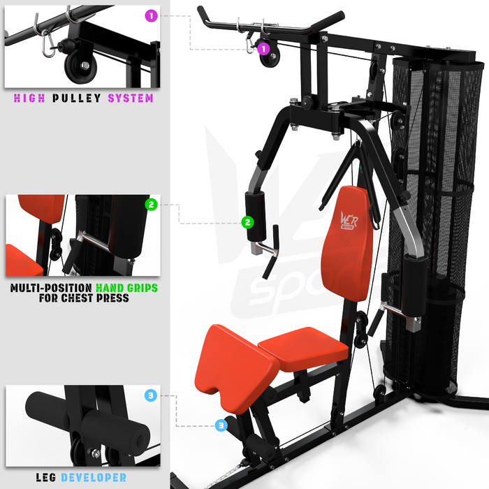 VenomXtreme multi gym features