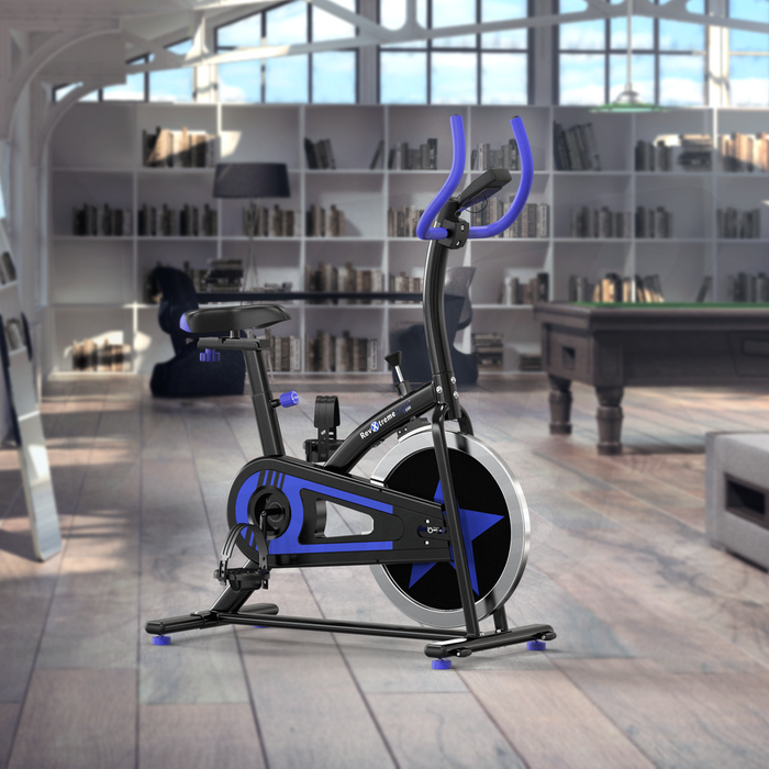 Blue RevXtreme OldSkool Indoor Cycle Studio Exercise bike