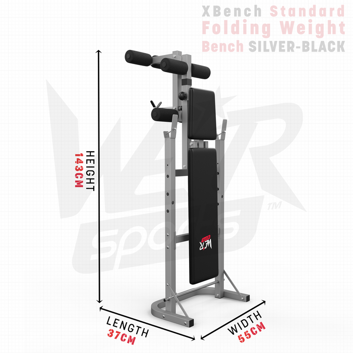 XBench weight bench height length and width dimensions