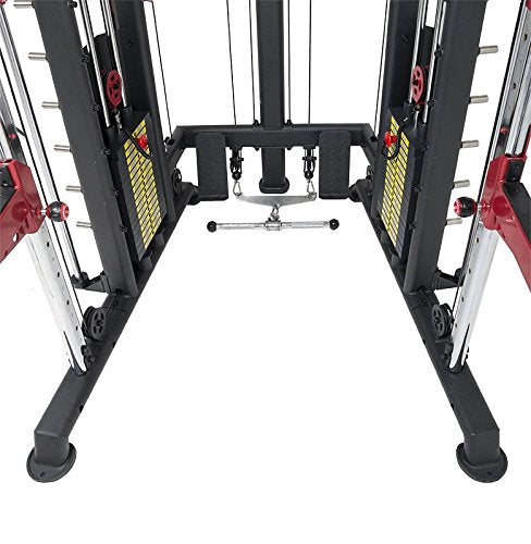 We R Sports Monster Power Cage Multi Power Rack Smith Machine Home Gym Crossfit Combo Lat /Low Row
