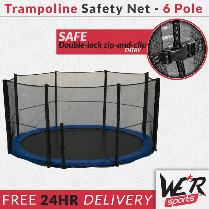 BounceXtreme Trampoline Safety Net and close up