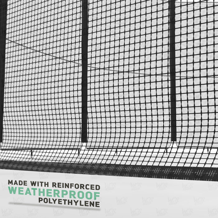 BounceXtreme Trampoline weatherproof safety net