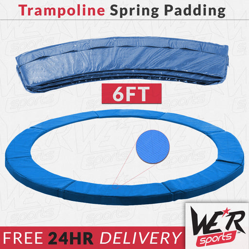 24 hr delivery of 6ft trampoline spring padding from WeRSports