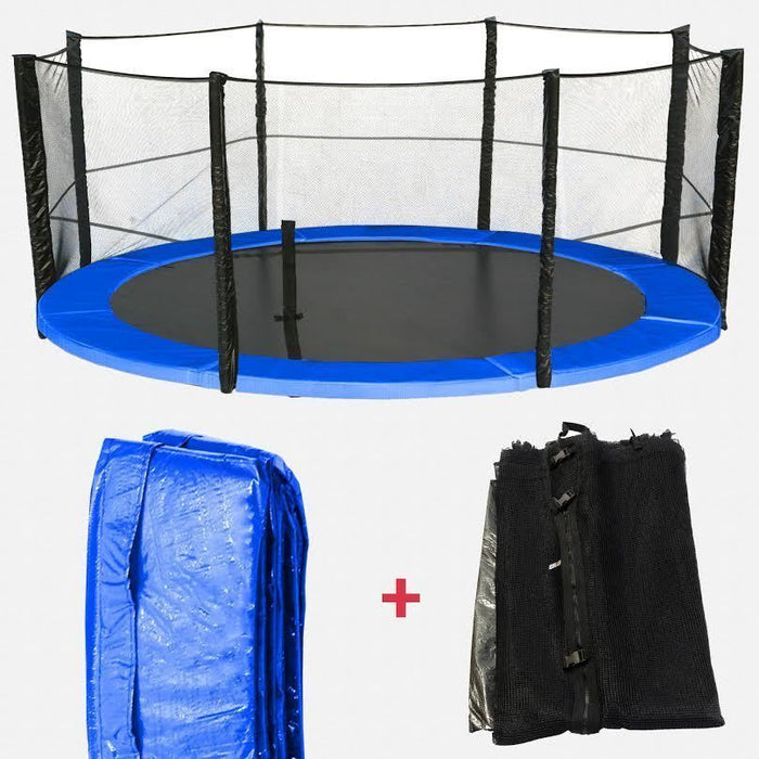 BounceXtreme Trampoline Safety net & Spring Padding Bundle from WeRSports 4