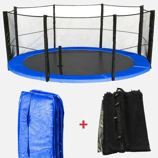 BounceXtreme Trampoline Safety net & Spring Padding Bundle from WeRSports