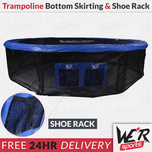 24 hr delivery of trampoline bottom safety net/skirting