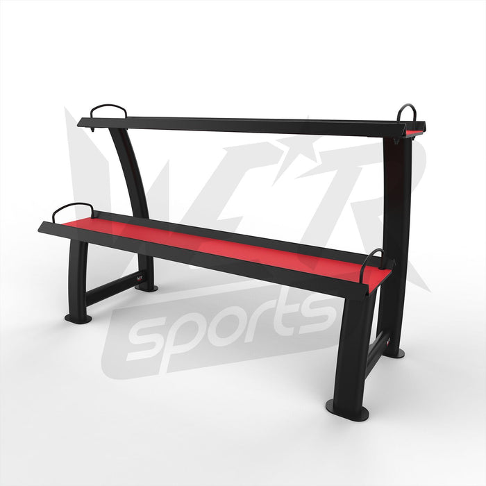 Kettlebell display stand rack