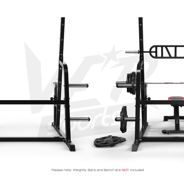 Adjustable weight lifting multi gym