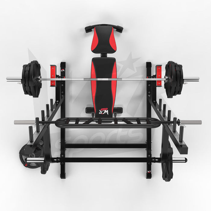 WeRSports adjustable weight lifting stand