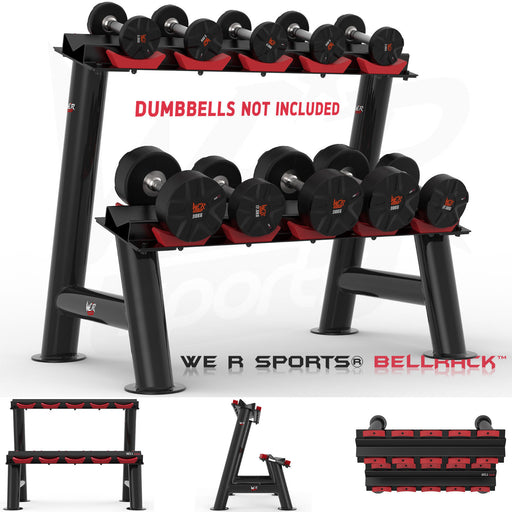 Heavy Duty Dumbbell Rack other views