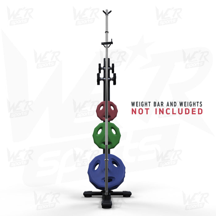Dumbbell and weight bar and plates storage rack from WeRSports