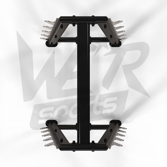 WeRSports barbell bar storage rack