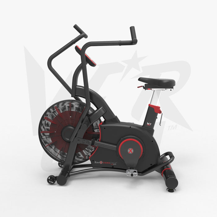 Exercise bike for crossfit training left view