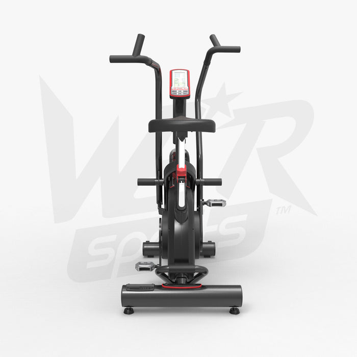 Back view of Exercise Bike Commercial Air Bike Dual Action Fan Bike