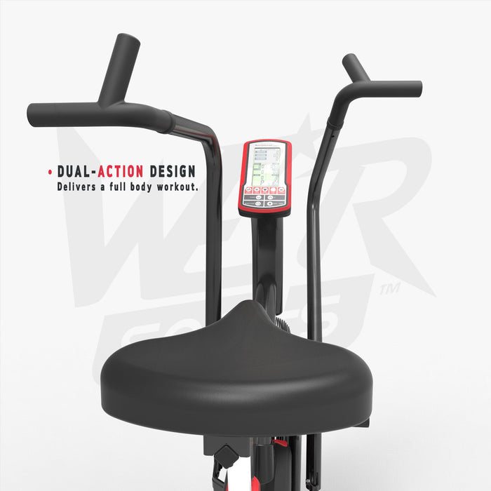 exercise bike monitor for crossfit workout