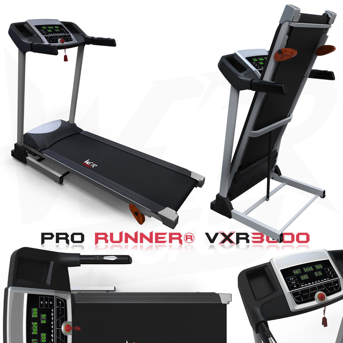 Electric Treadmill Pro Runner© VXR3000 for cardio training from WeRSports