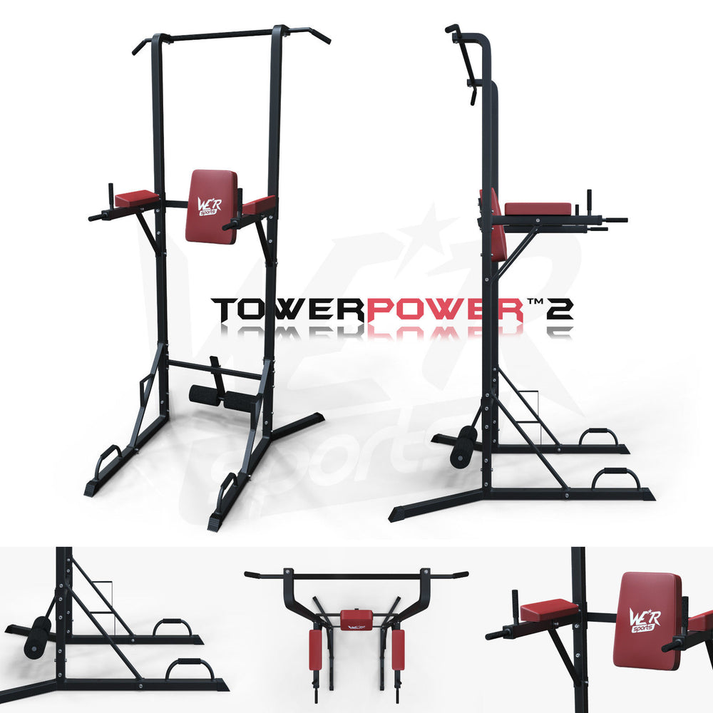 TowerPower 2 Pull Up tower Station WeRSports
