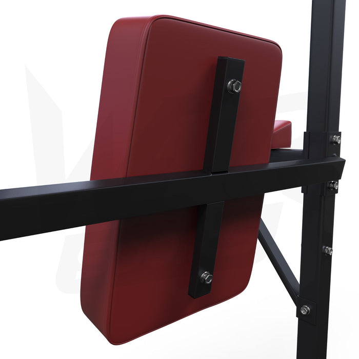Black red TowerPower 2 pull up tower station from WeRSports