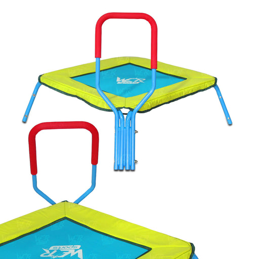Trampoline With Handle Bar from WeRSports