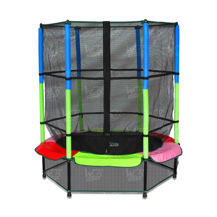 Multicolour fitness trampoline from WeRSports