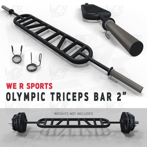 "Multi Handle Grip Triceps Bar 2"" from WeRSports for strength training"