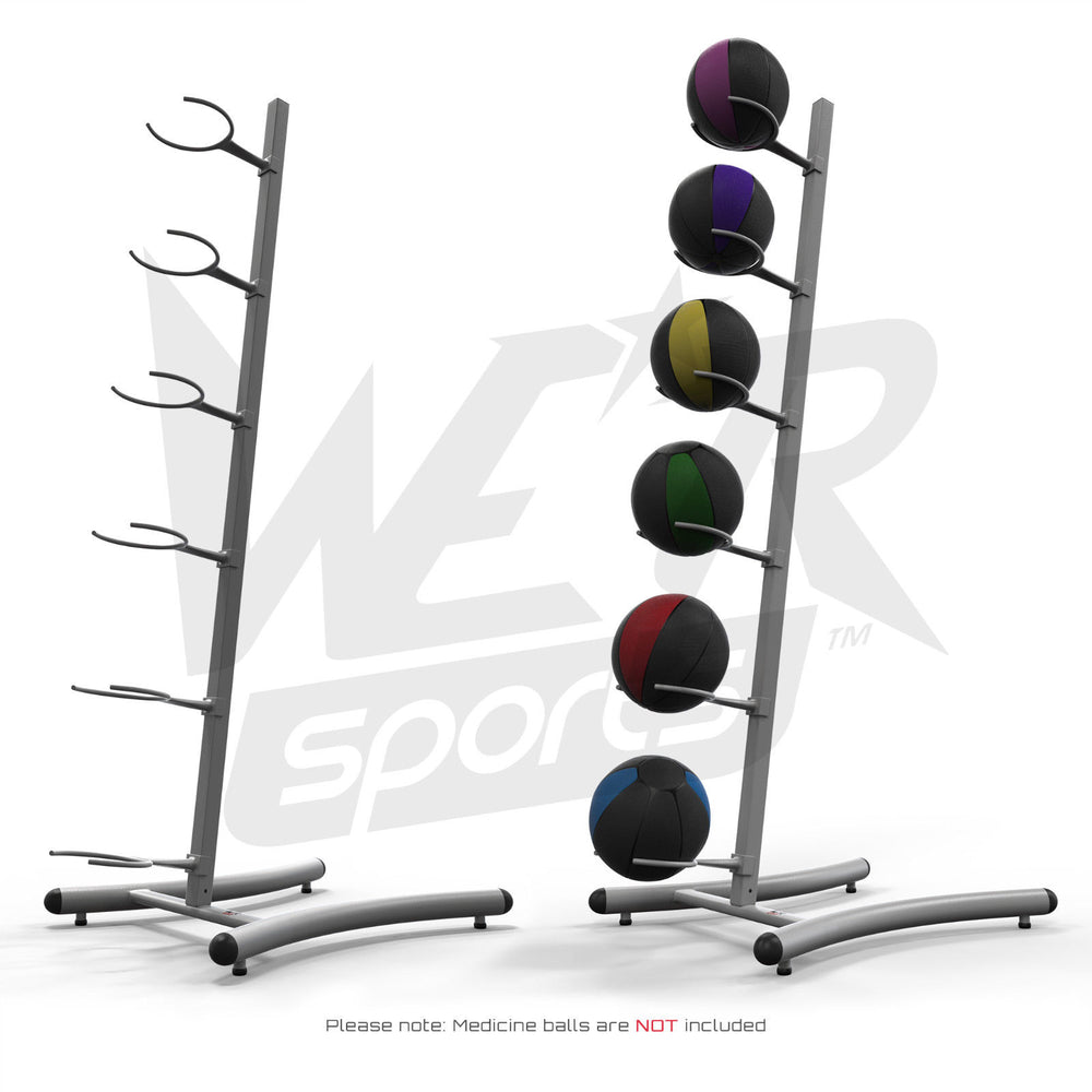 Silver Medicine Ball Rack from WeRSports