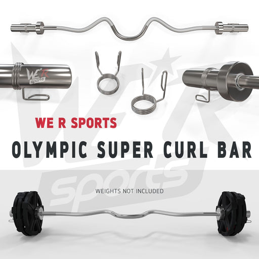 FlexBar Olympic Super Curl EZ Bar from WeRSports