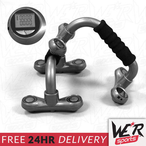 24 hour delivery of push up bars by WeRSports