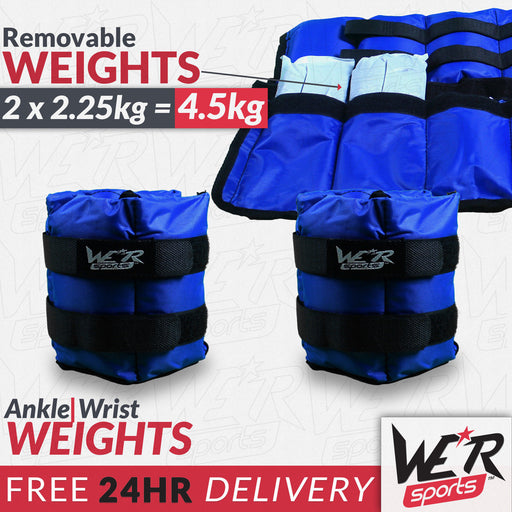 24 hr delivery removable weights by WeRSports