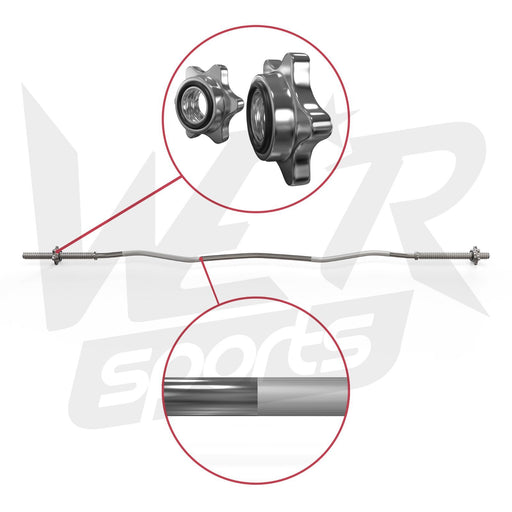 Flexbar 1' curl bar parts