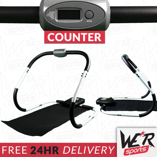 24 hour delivery ab roller with monitor from WeRSports