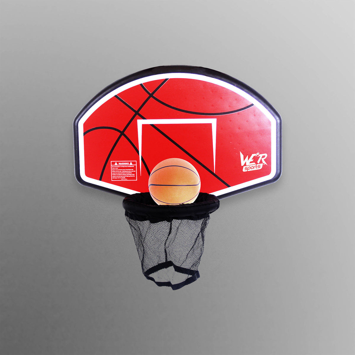 BounceXtreme Trampoline Basketball Hoop