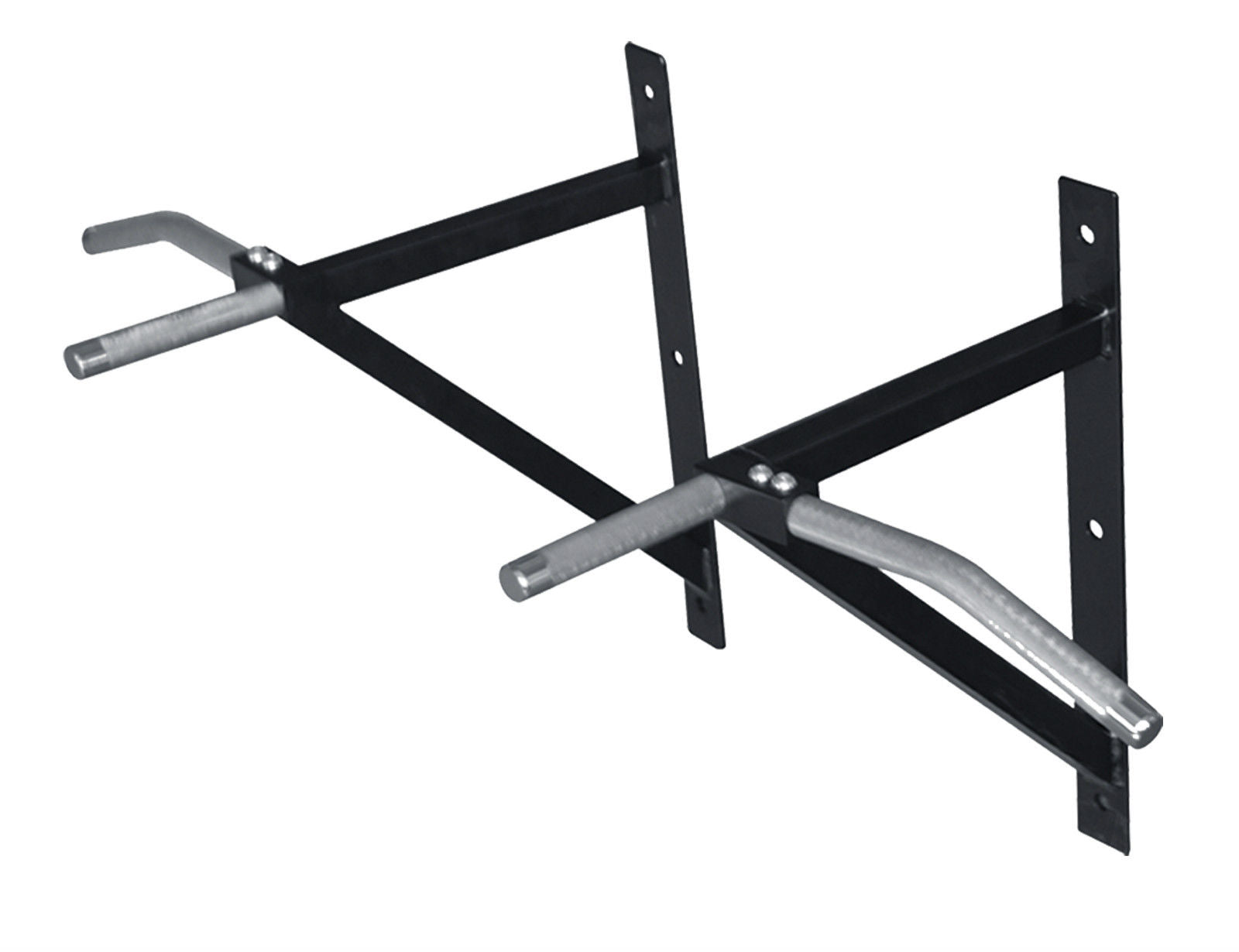 ChinUpFlex Wall Mounted Multi-Grip Chin Up Bar comes in silver and black from WeRSports