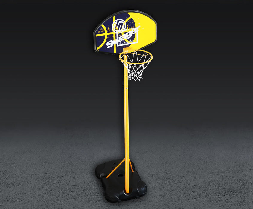 Portable Basketball Net Hoop Backboard With Adjustable Hight Stand With Wheels from WeRSports