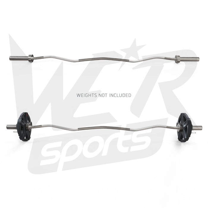 WeRSports curl bar for weight training