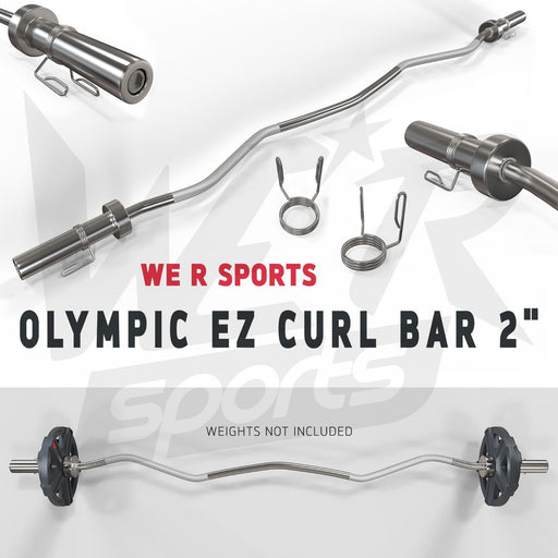 FlexBar Olympic EZ Curl Bar from WeRSports
