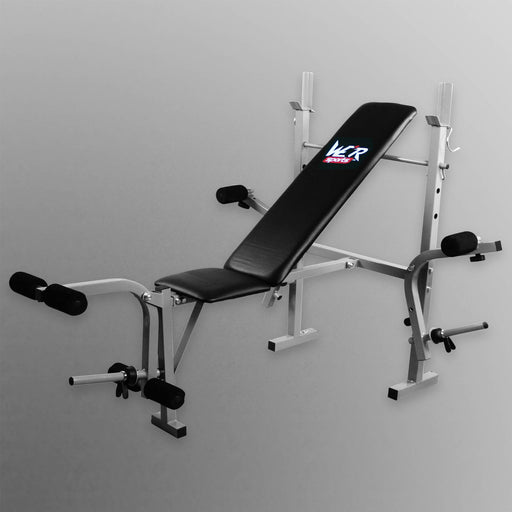 XBench 2 folding weight bench with flyes from WeRSports