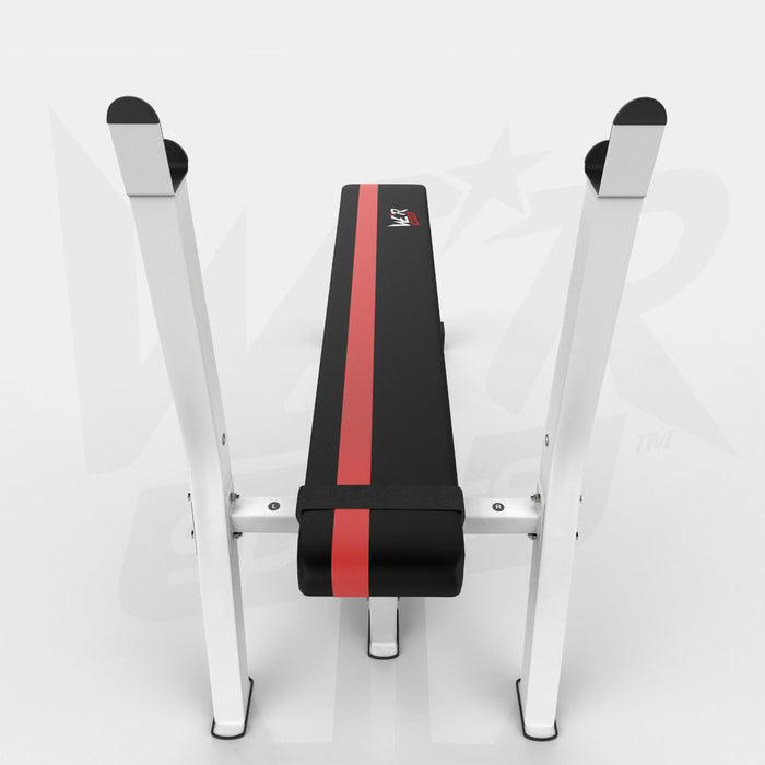 Top view of BenchXPower flat weight bench from WeRSports