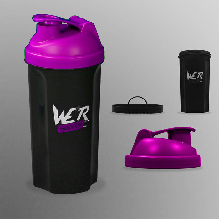 purple ShakenInProtein Shaker Bottle from WeRSports