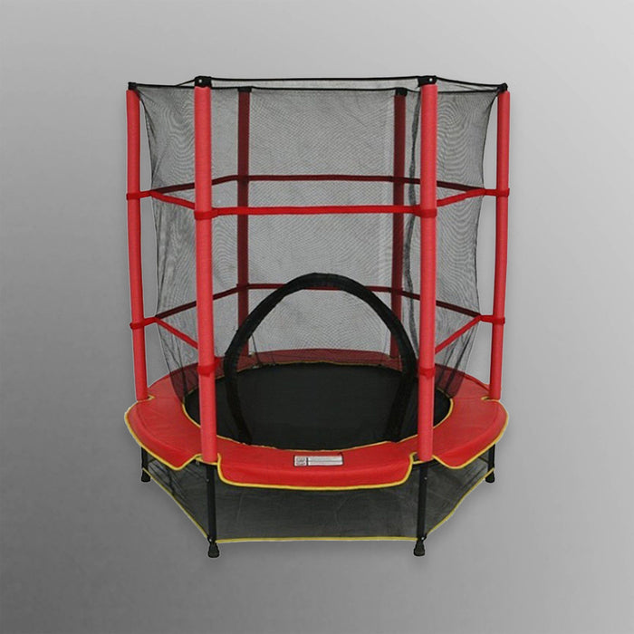 BounceXtreme Junior Trampoline in red