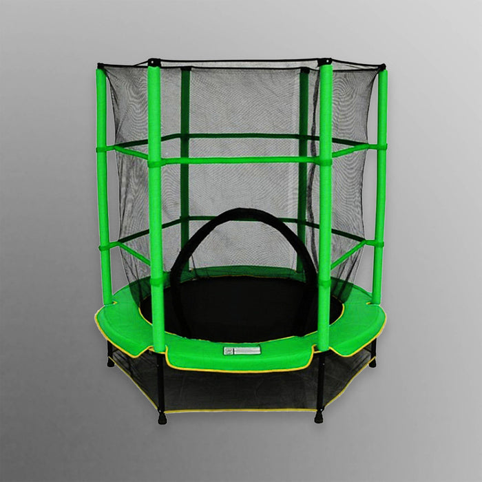 green junior trampoline